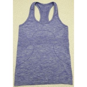 Lululemon Run: Swiftly Tech Racerback Purple Sz 6